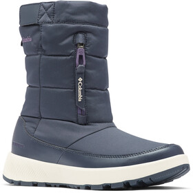 Columbia Paninaro Omni-Heat Pull On WP Winter Boots Women abyss/white